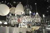 Kroonlamp Chroom/Kristal