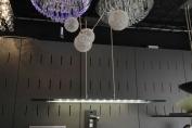 Led Hanglamp met zwart glas